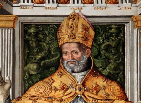 """Sant'Ubaldo, stratega difensore di Gubbio, oggi festeggiato dalla """"corsa dei ceri"""""""